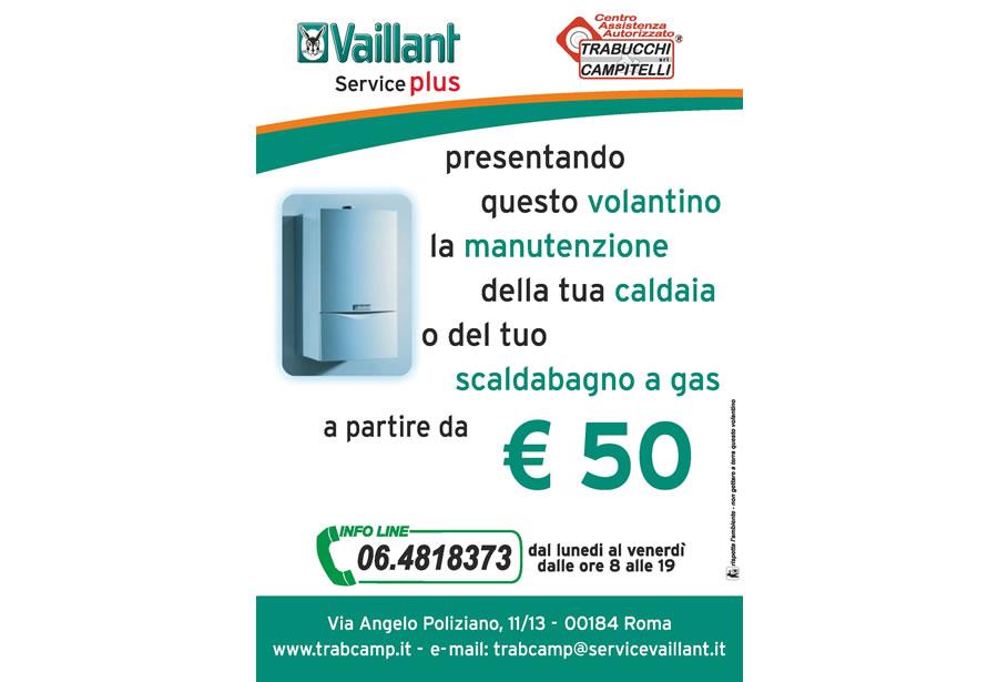 Bollino blu caldaie vaillant roma trabucchi campitelli srl - Manutenzione scaldabagno ...