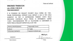 Certificazione ICMQ Norma Uni 11554