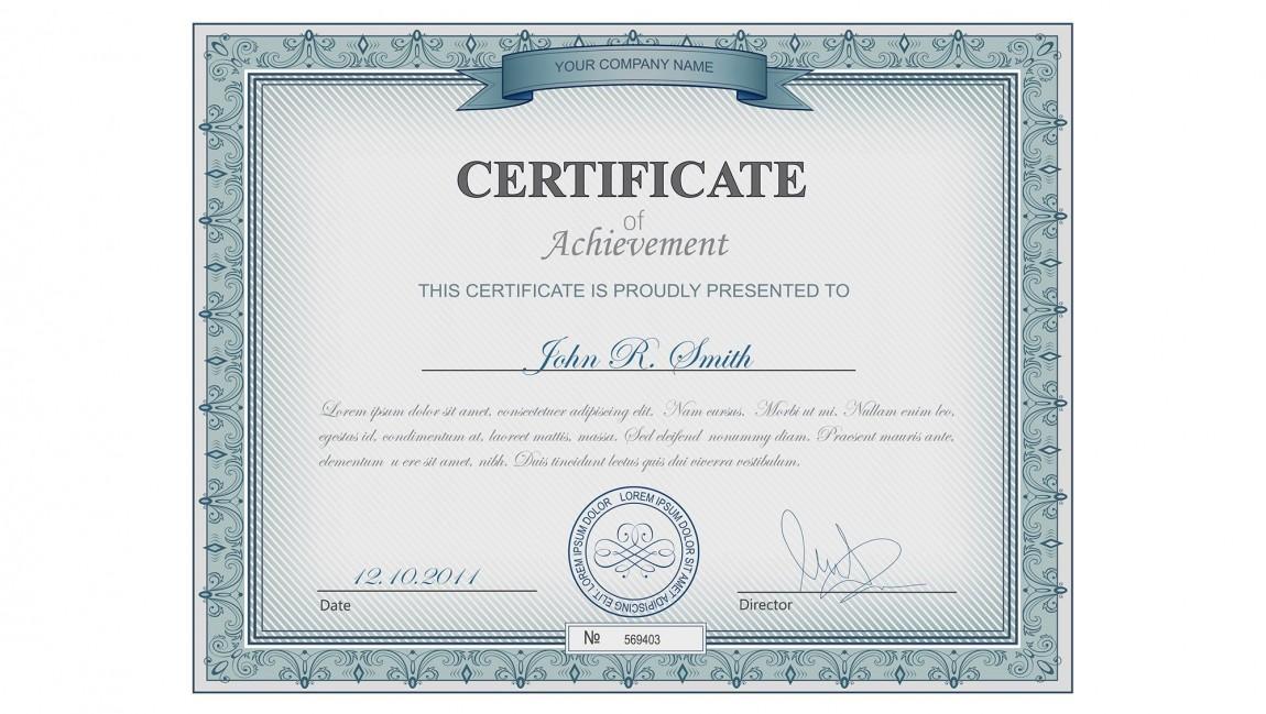 Certificazione …